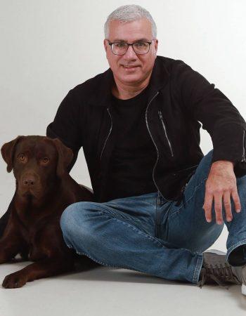 mindfulness trainer raymond en mindful hond charlie